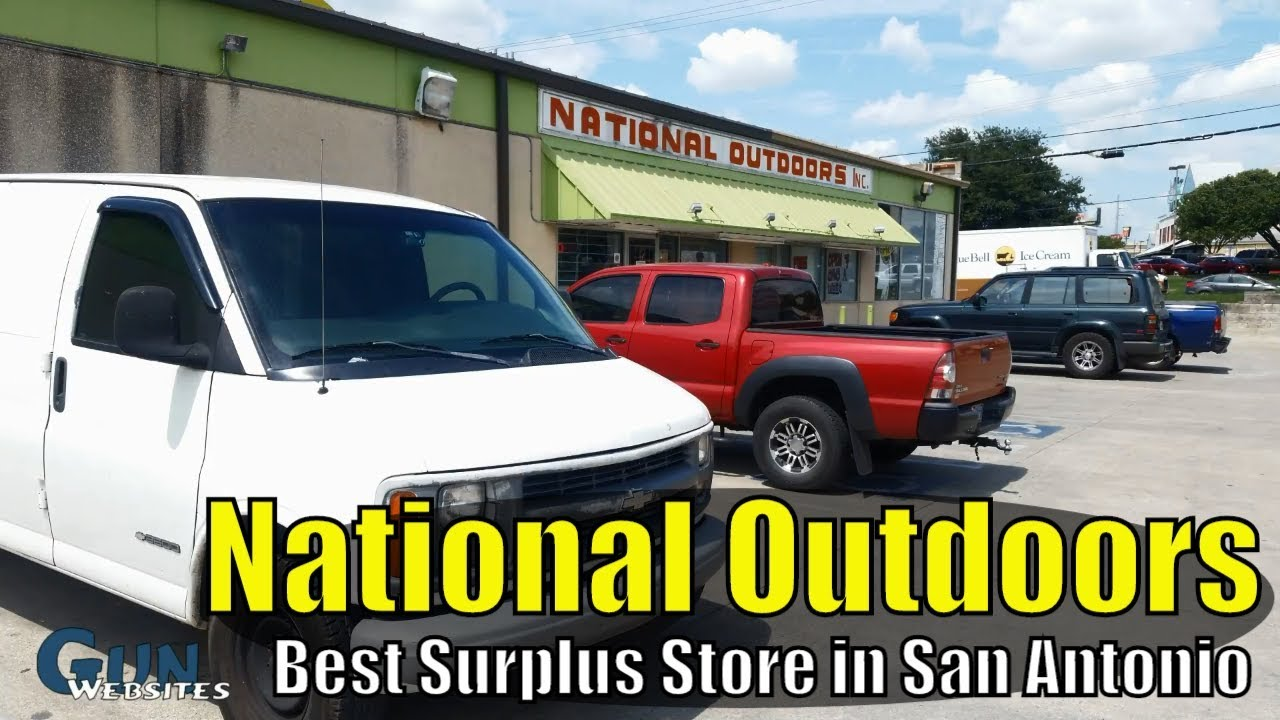 National Outdoors - Best Texas Army Surplus Store in San Antonio Texas