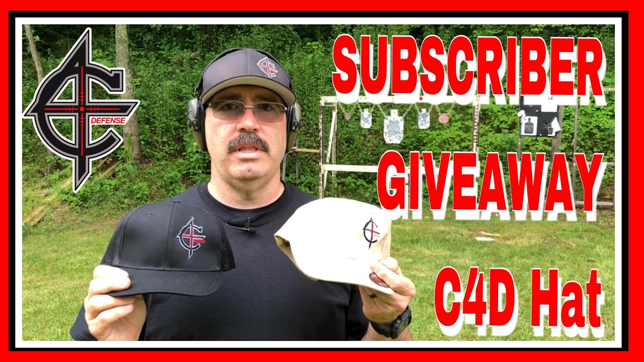 C4 Defense Hat Giveaway May, 31 2018