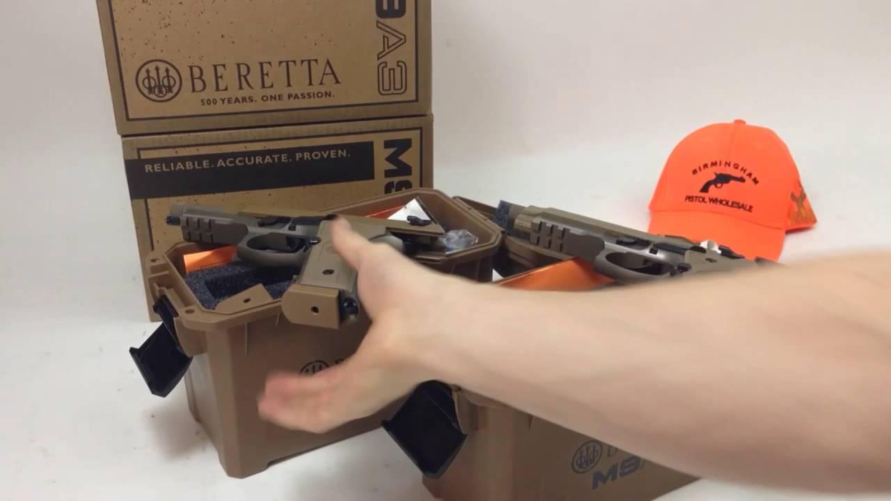 Beretta M9A3 Comparison Type F Versus Type G