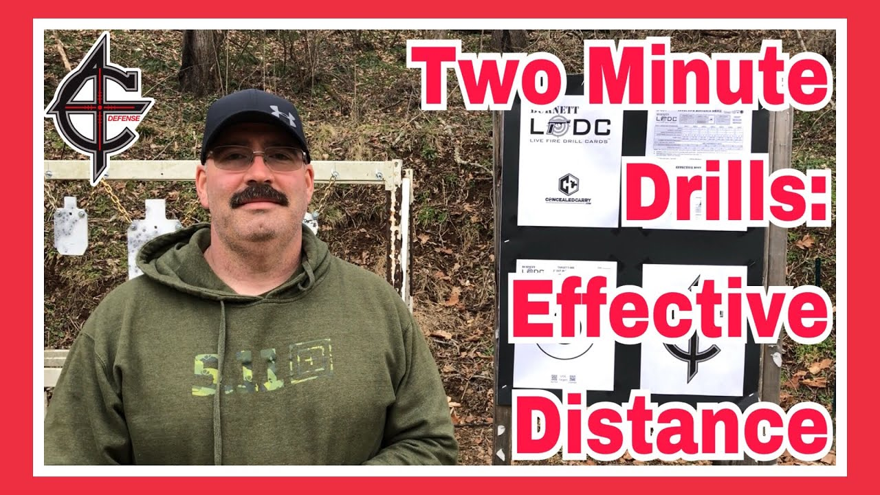 Two Minute Drills: Effective Distance | CZ P10C 9mm