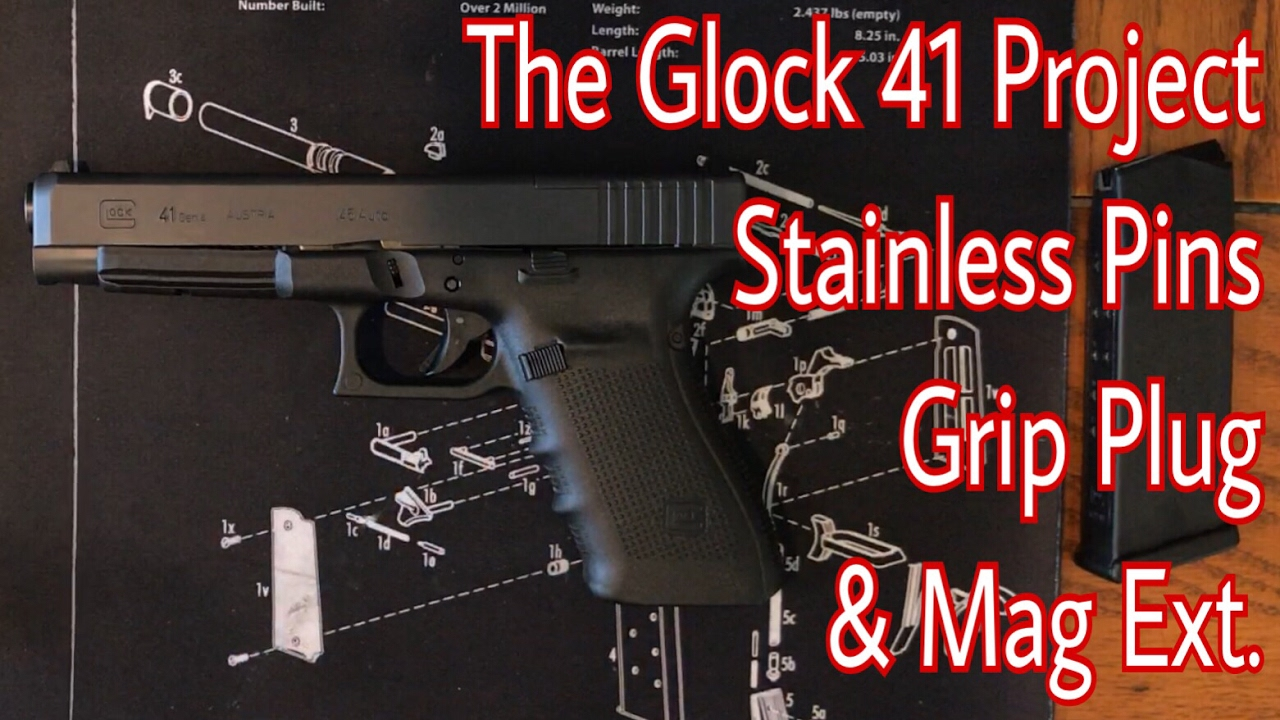 How to Install Glock Stainless Steel Pin Set in Sequence