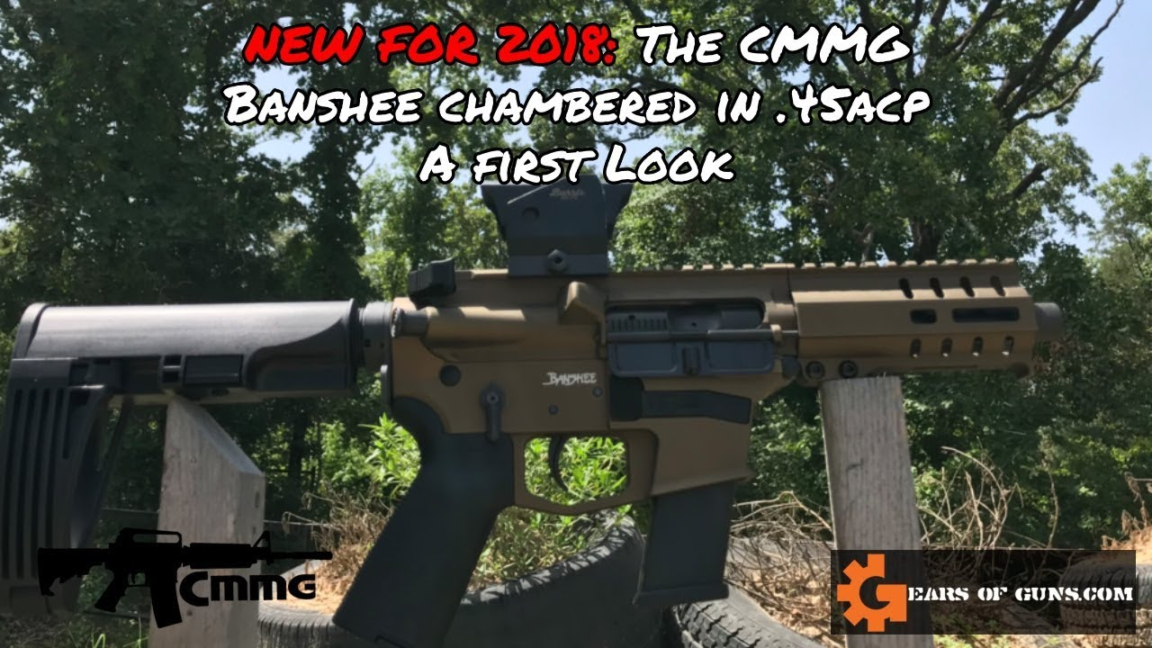 New for 2018: The CMMG Banshee