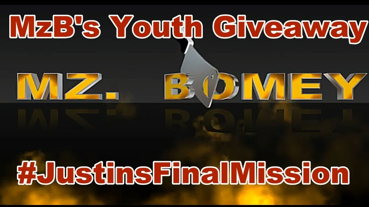 MzB Youth Giveaway  #JustinsFinalMission