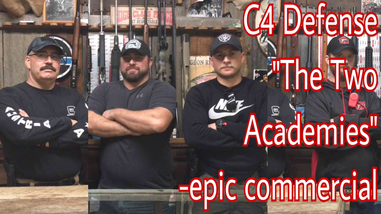 Two Academies Commercial • C4 Defense North Carolina Concealed Carry