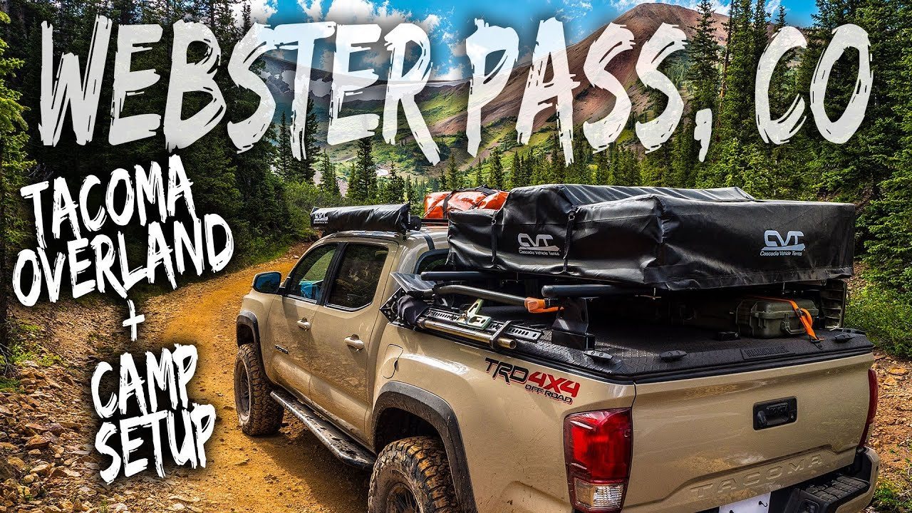 Tacoma Overland - Webster Pass, CO 7-1-2018