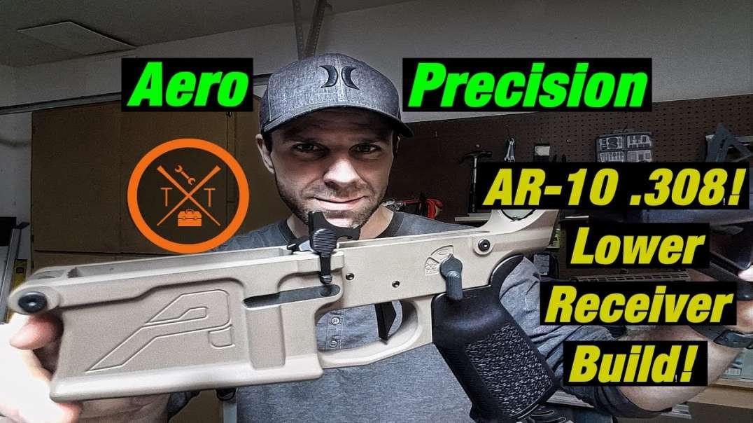 Battle Rifile! AR-10 .308 Build: M5E1 Lower Receiver Assembly (Links in Description)