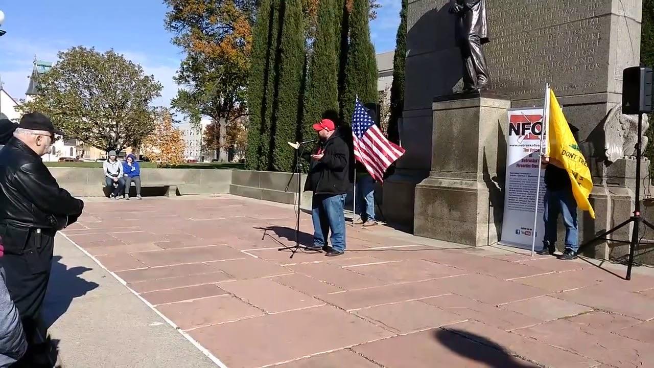 Nebraska 2A Capitol Rally Sandhills Shooter Speaking