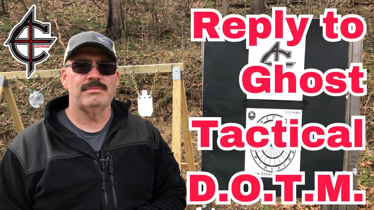 Reply to the Ghost Tactical Drill of the Month - DARTS
