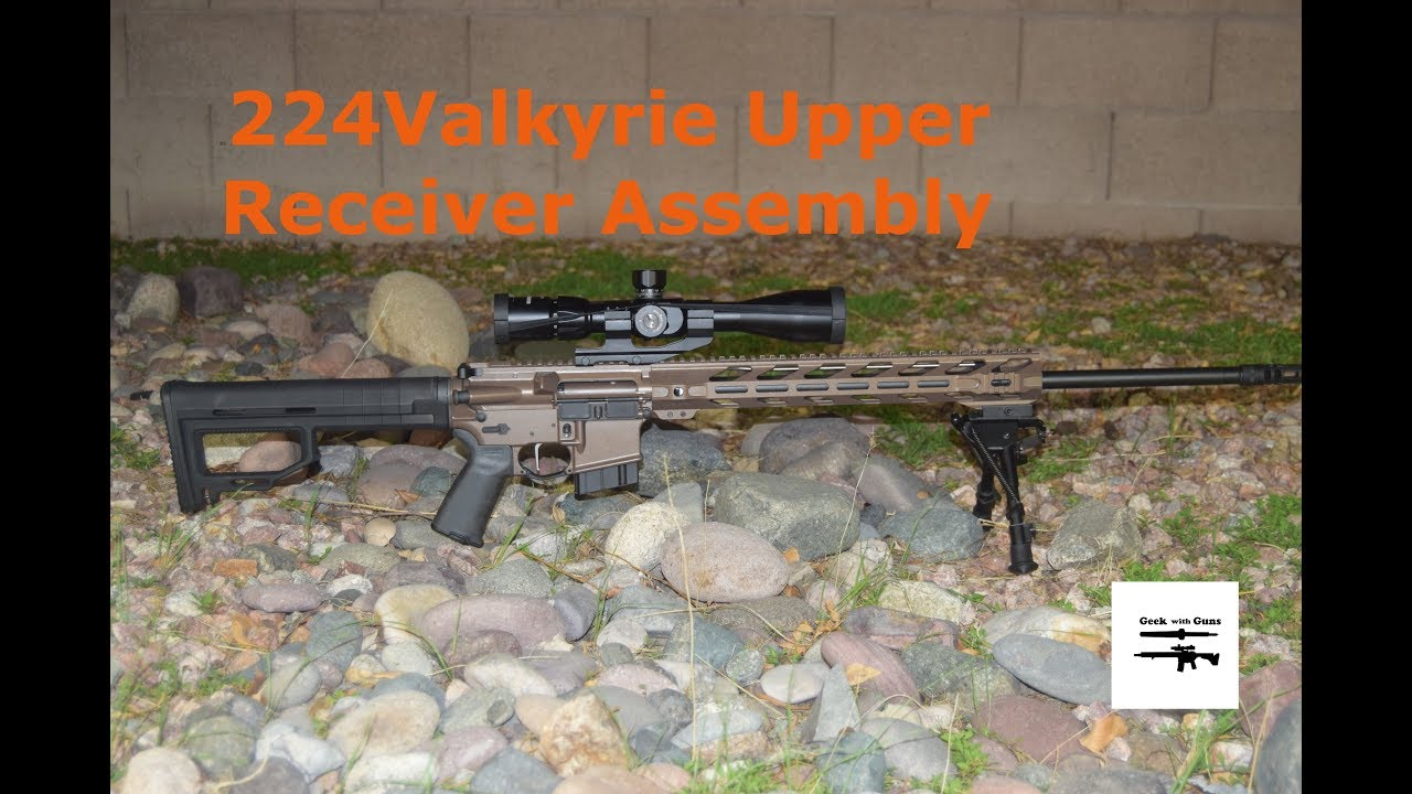 224 Valkyrie Upper Assembly
