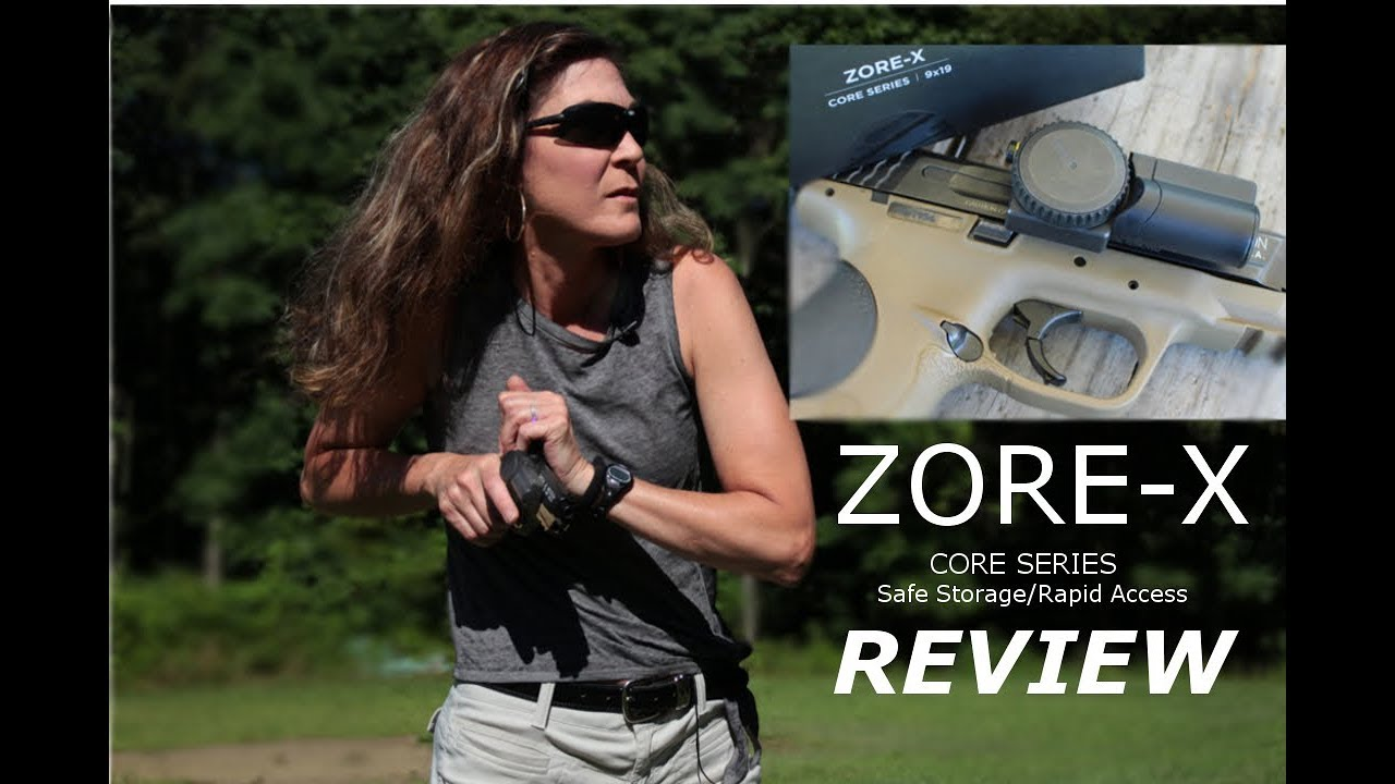 Zore-X - Core Series Gun Lock REVIEW