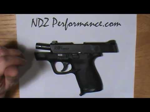 M&P Shield Finger Grip extension by NDZ Performance