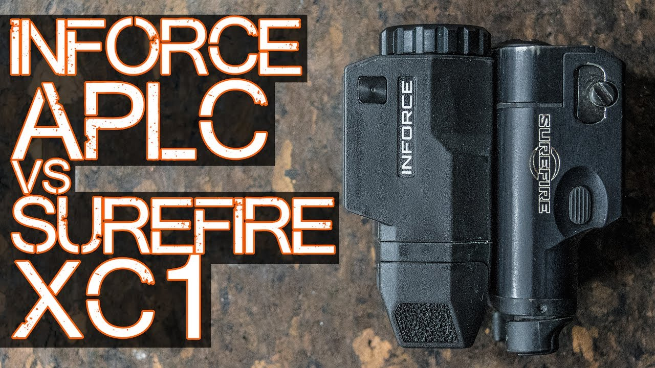 Inforce APLc vs Surefire XC1 (the detailed review you ACTUALLY care about)