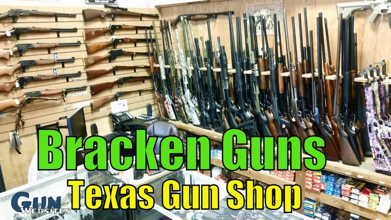 Bracken Guns - Texas Gun Shop in San Antonio