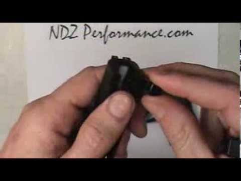 NDZ Performance Custom Rear Plate for S&W M&P Shield 9mm .40