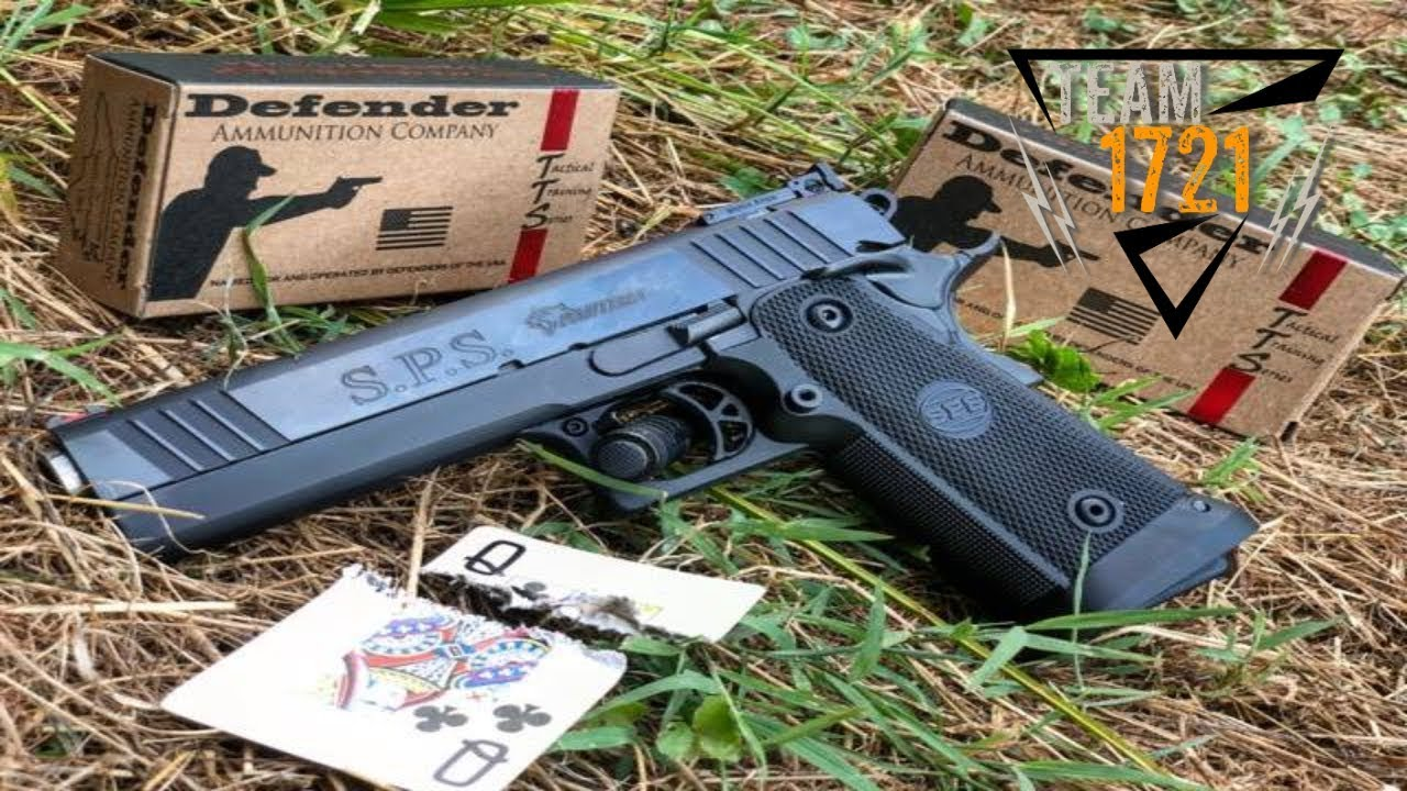 Plinking with the S.P.S. PANTERA 9MM