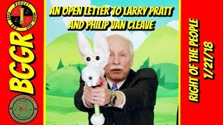 An Open Letter To Larry Pratt and Philip Van Cleave