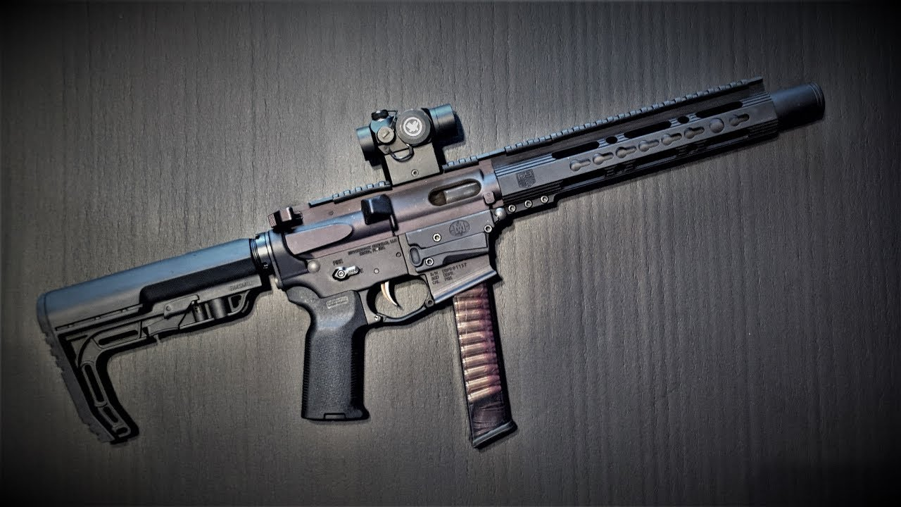 FosTecH Echo - Diamondback DB9R 10.5in 9mm SBR