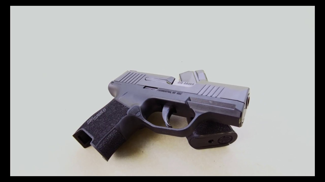 MODERN WEAPON SYSTEMS | WE TAKE A LOOK AT THE SIG SAUER P365 SMALL CCW 9MM PISTOL