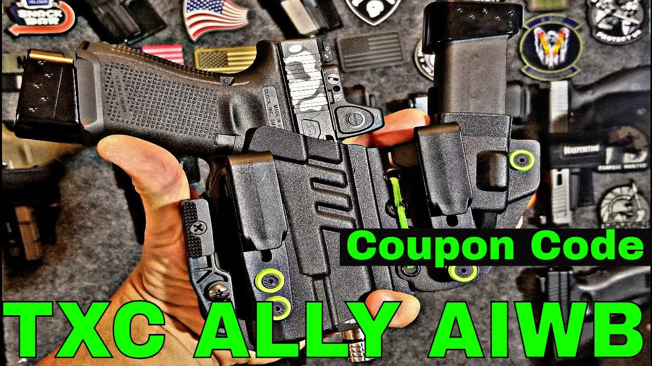 TXC Ally Holster Review and Coupon Code!