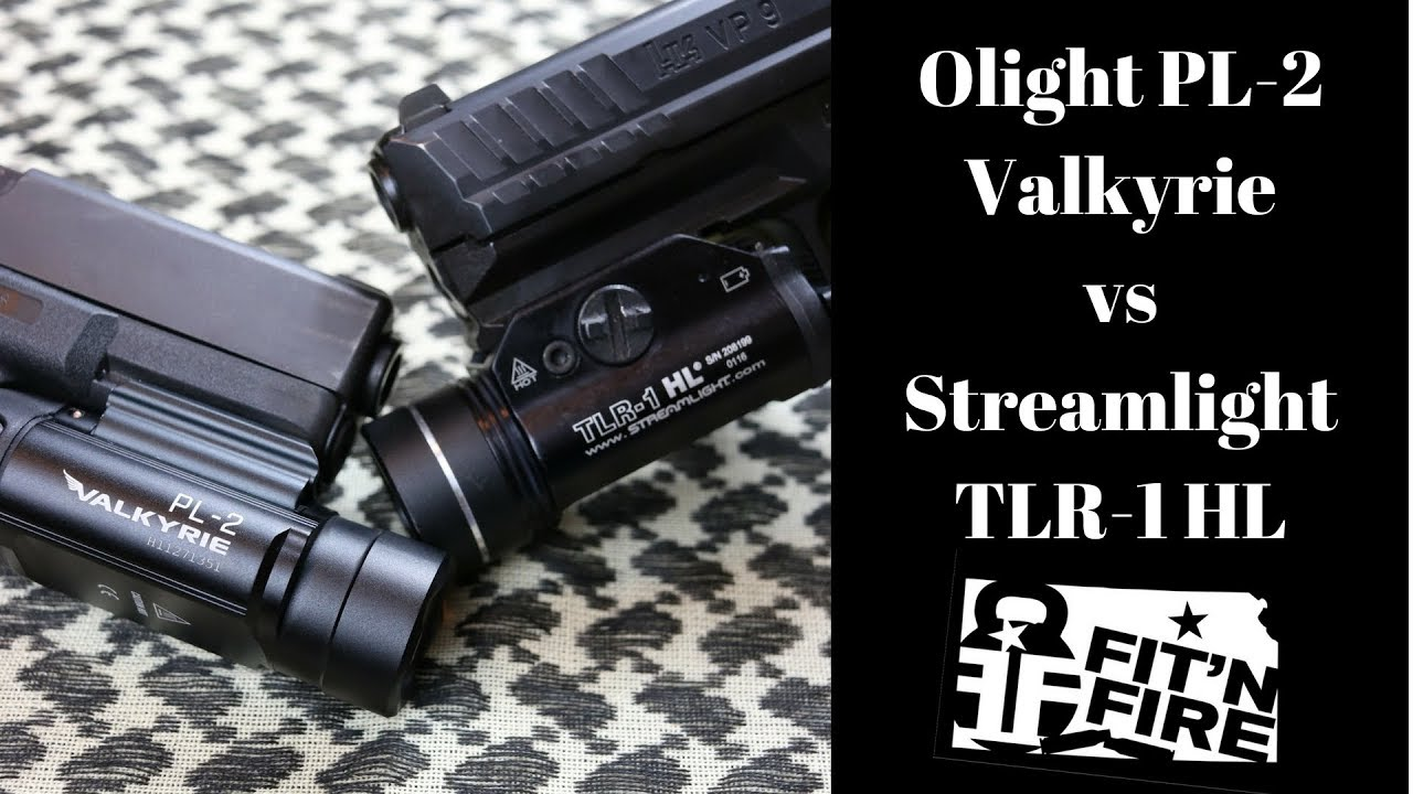 Olight PL-2 Valkyrie vs Streamlight TLR-1 HL