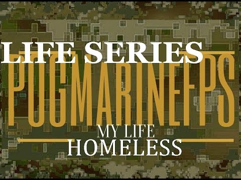 The HOMELESS Marine in the Woods UPDATE Reenlistment PSEP My Life Series