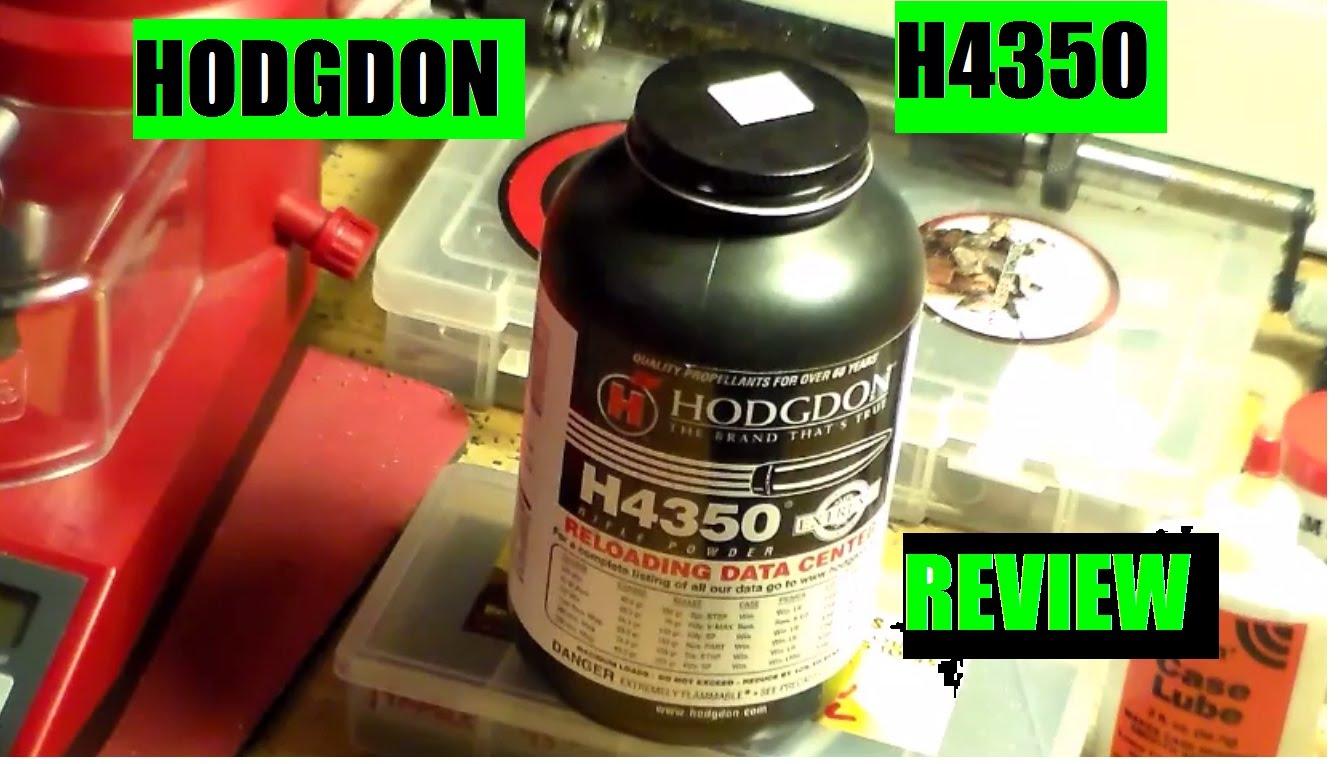 Hodgon H4350 Smokeless Rifle Powder Review By JSD Arms