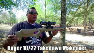 Ruger 10/22 Takedown Makeover