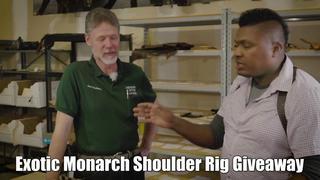 Exotic Monarch Shoulder Rig Giveaway