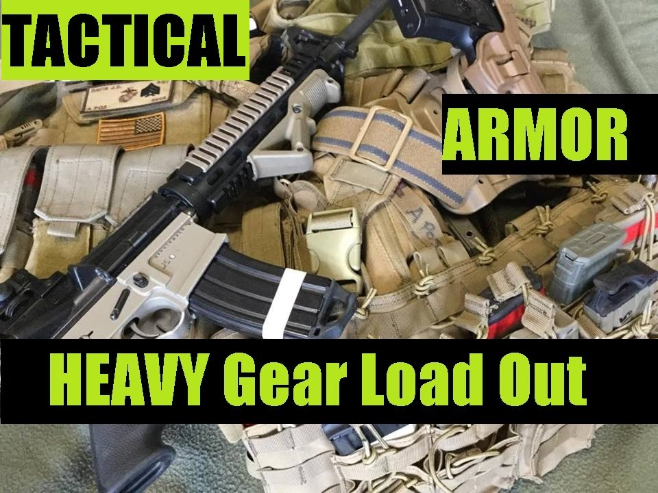 U.S. Marine Corps Veteran's Gear Tactical Load out Heavy weight Rifle  Gear PART FOUR