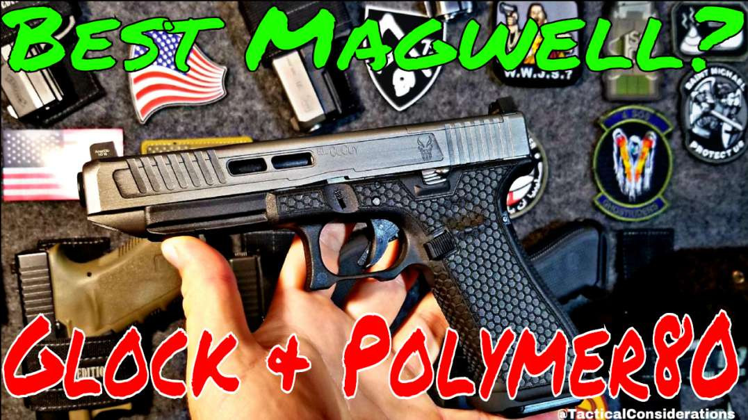 Zev and Blacklist Industries Magwell Glock or Polymer80!