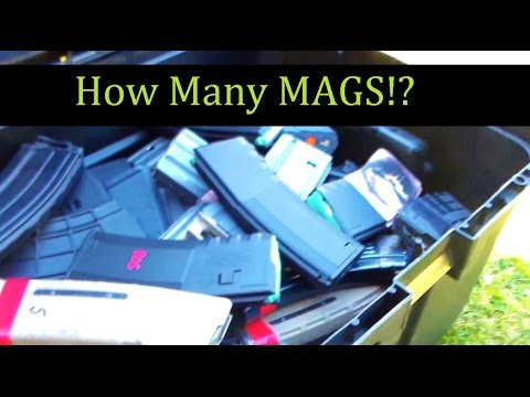 How Many Magazines you need ?  Rifle  &  Pistol