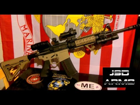 Ultimate AR-15 Build. Marine Veteran uses Military Experience to perfect the AR-15 Rifle