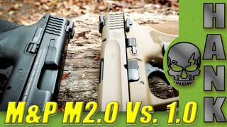 9mm M&P M2.0 Vs. 1.0 (with my Barber)