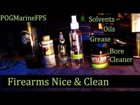 Guide to the BEST Firearms - Oils - Grease - Bore Cleaner - Solvents