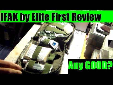 Elite First IFAK first aid kit review The good and the bad  by JSD Arms