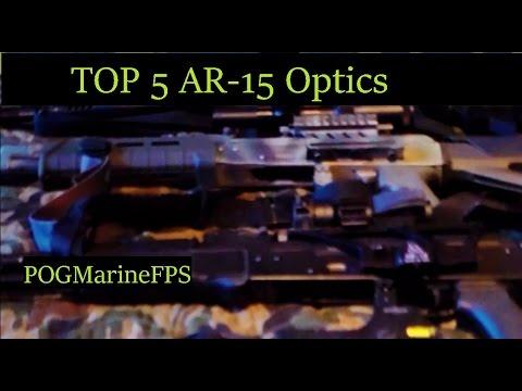 TOP Five AR 15 Optics