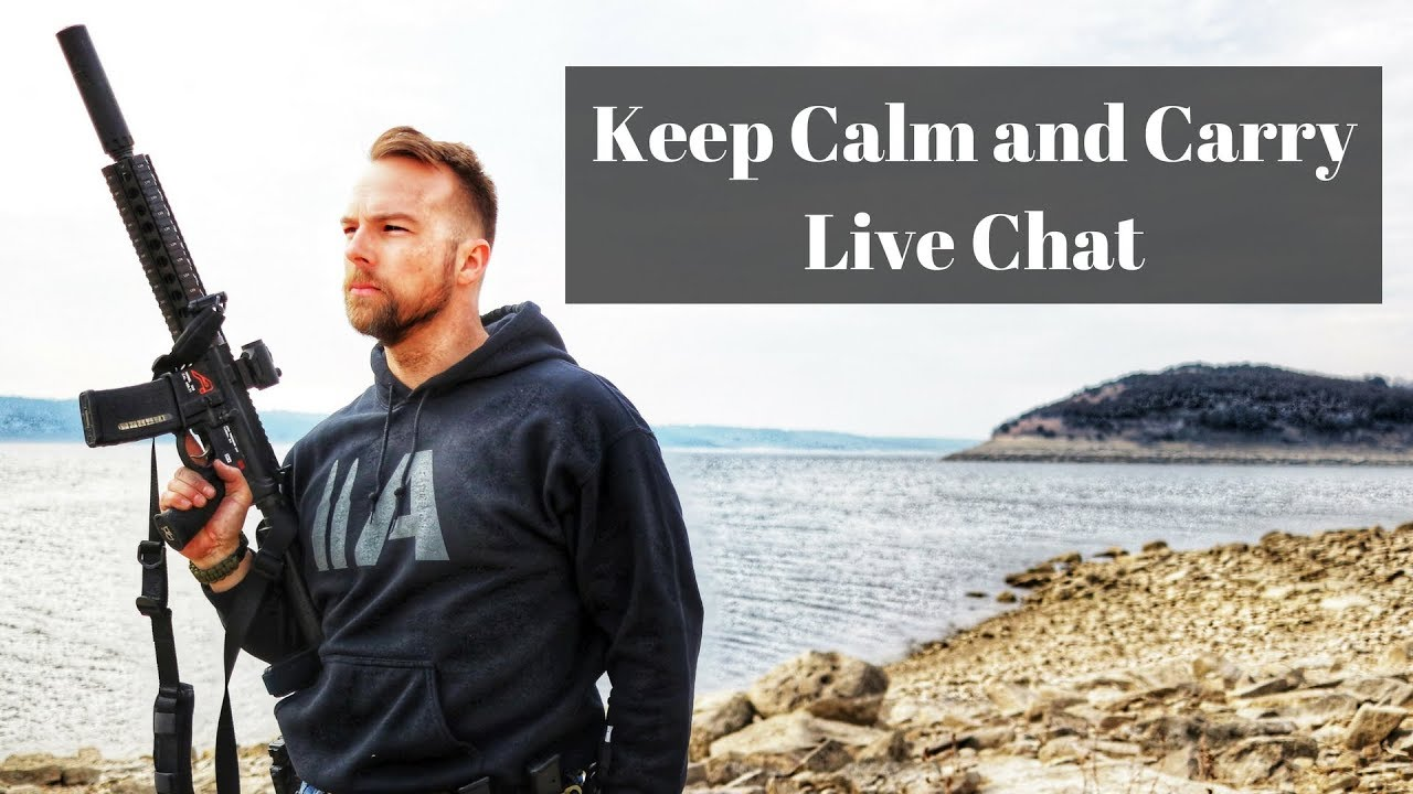Keep Calm and Carry Chat - my first live chat