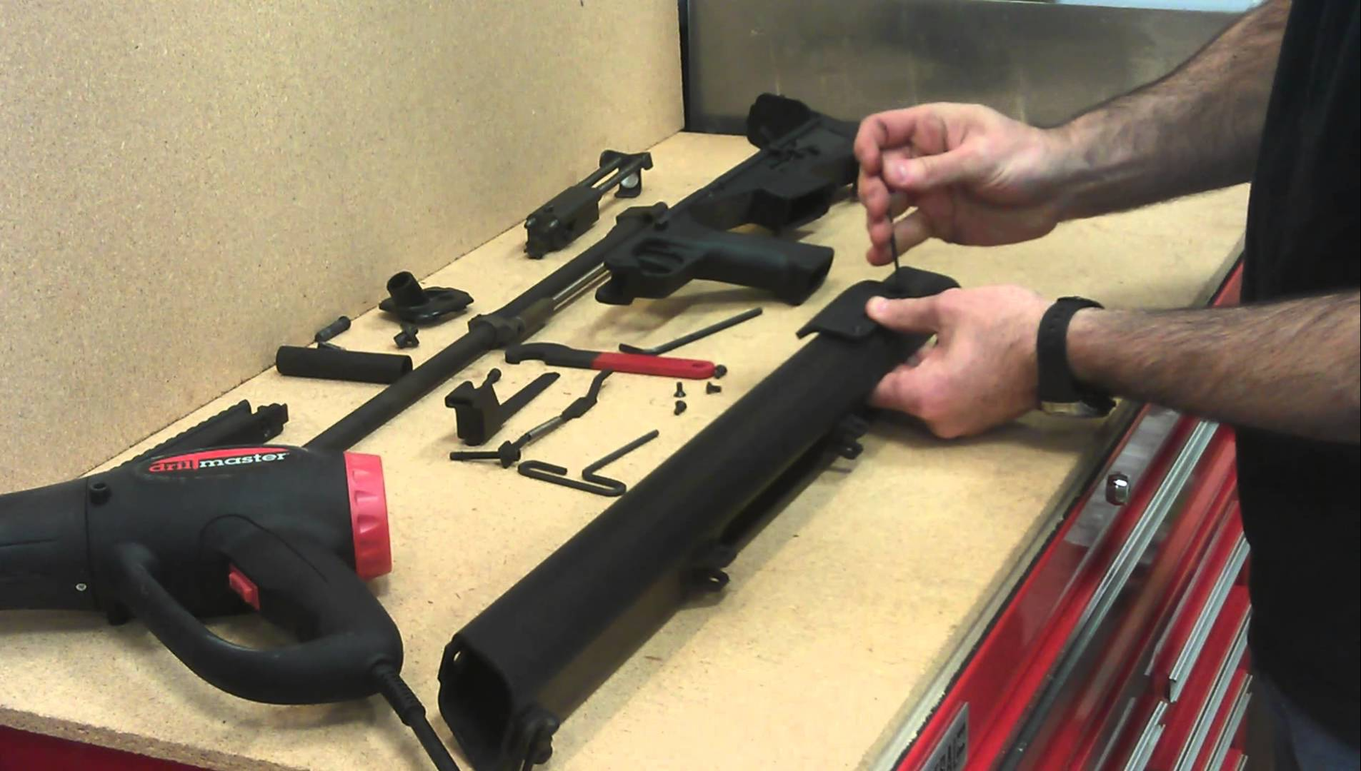 Bushmaster M17s How to install a K&M Aerospace Cheek Rest