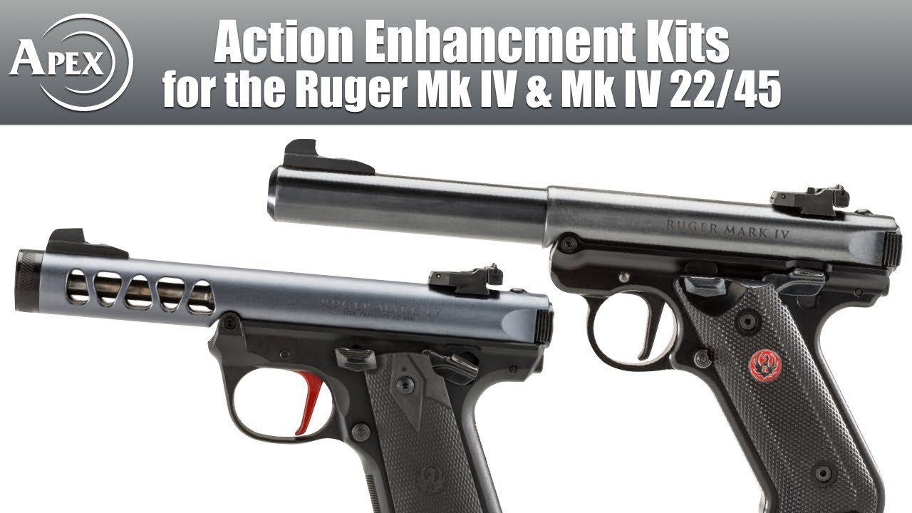 Apex's Action Enhancement Kit for the Mk IV Pistols from Ruger