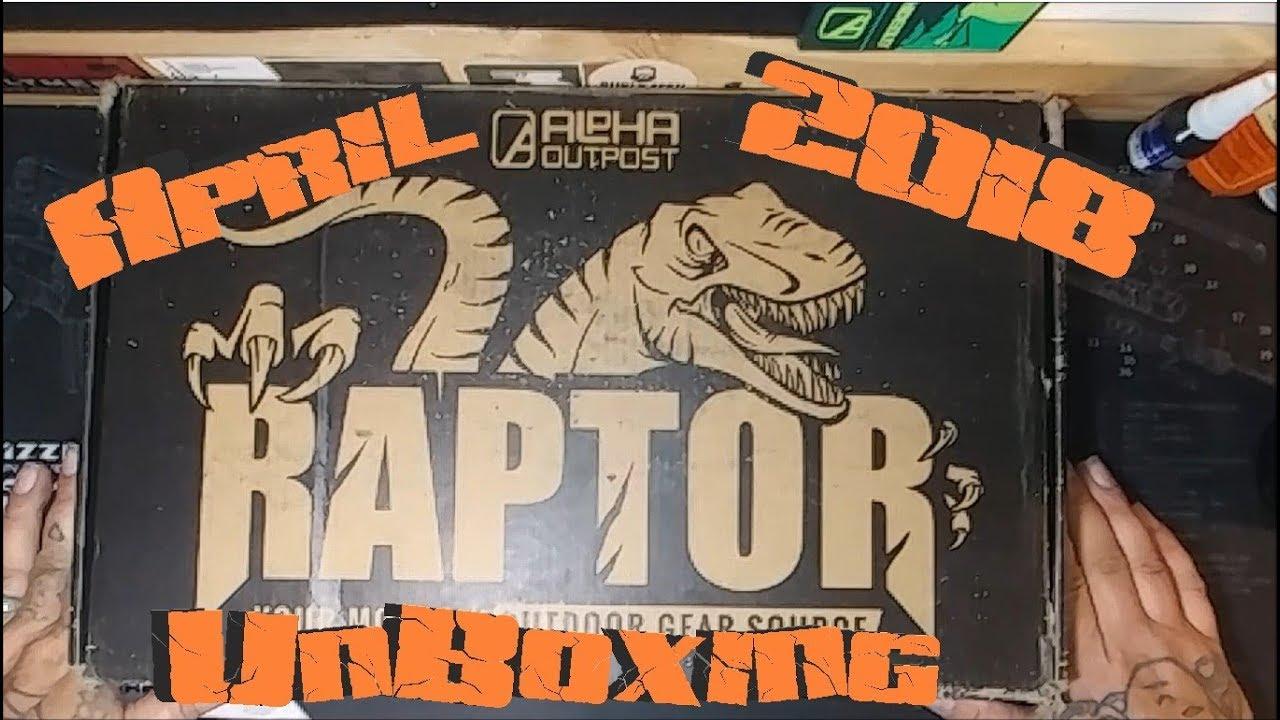 April 2018 Alpha Outpost Raptor Unboxing