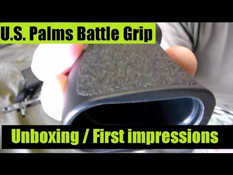 U.S. Palm Battle Grip unboxing FIRST impressions for the AK47 and AK 74 Rifle - Review