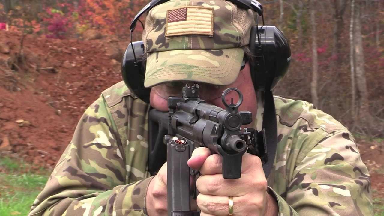 Full Auto Submachine Gun Demo - HK MP5 K PDW - HD VIDEO