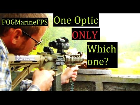 ONLY one Optic What Would it Be ?