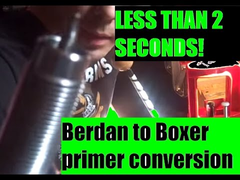 Berdan to Boxer primer conversion custom made tool  by JSD Arms