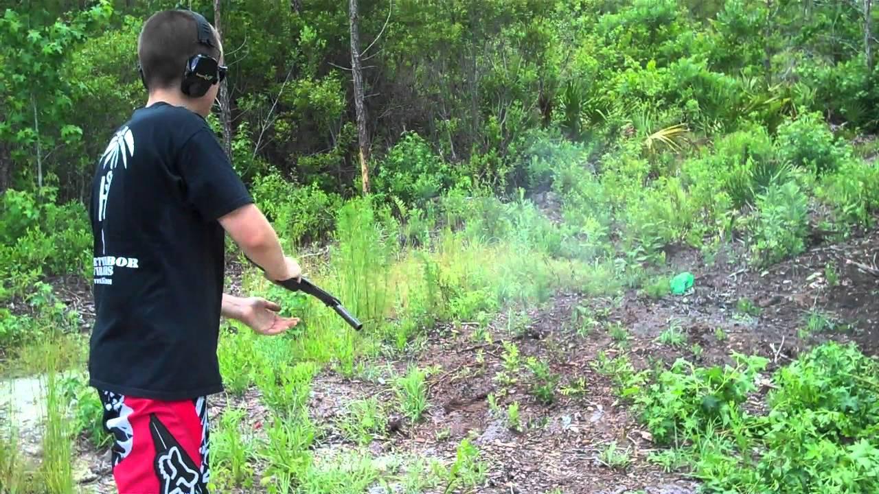 KEG12 shotgun vs. 2 liter