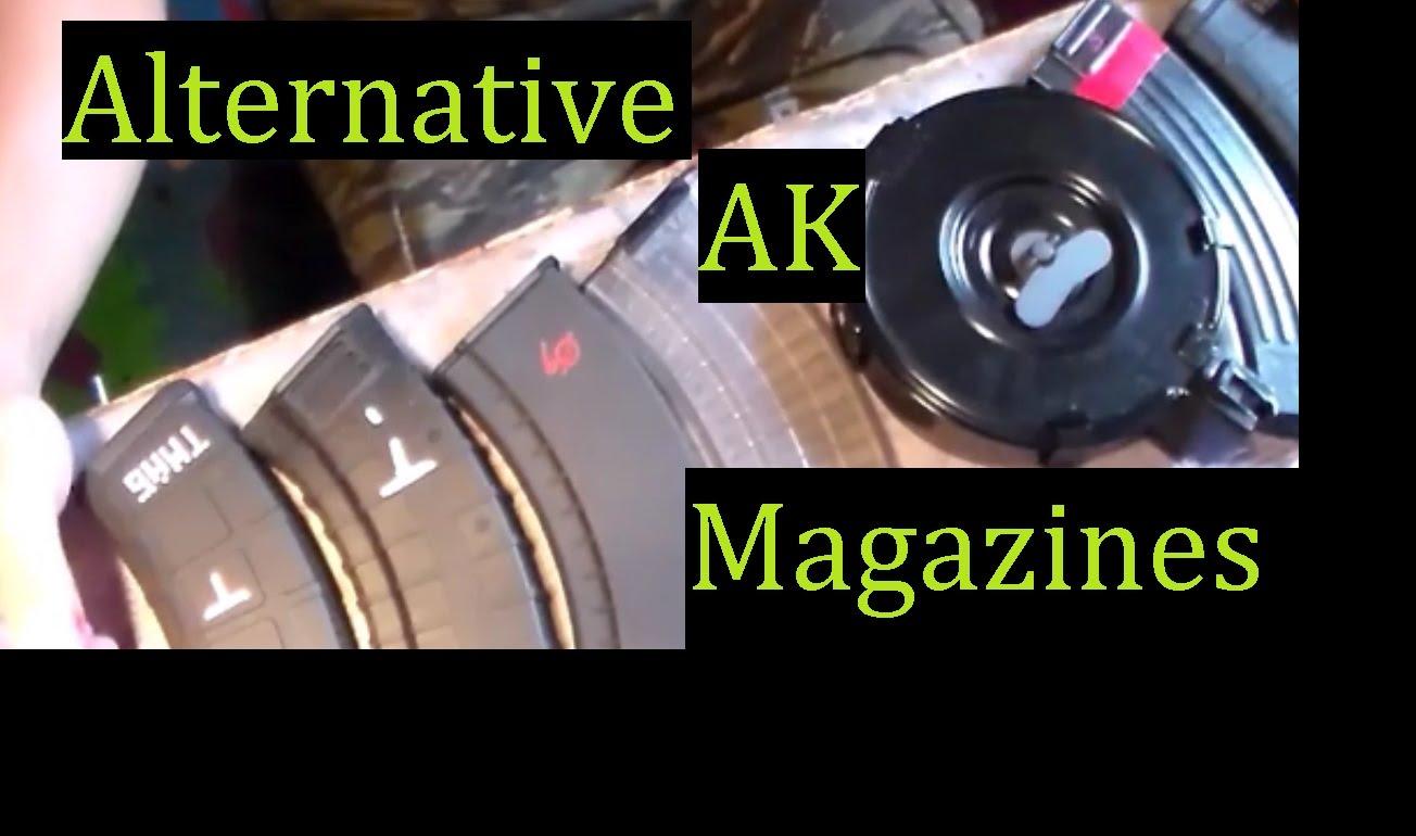 EIGHT Alternative AK-47 Mags 7.62x39