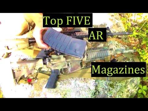 TOP Five AR15 Magazines