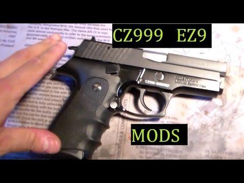 CZ999 EZ9 Zastava Mods for a handgun that has it All