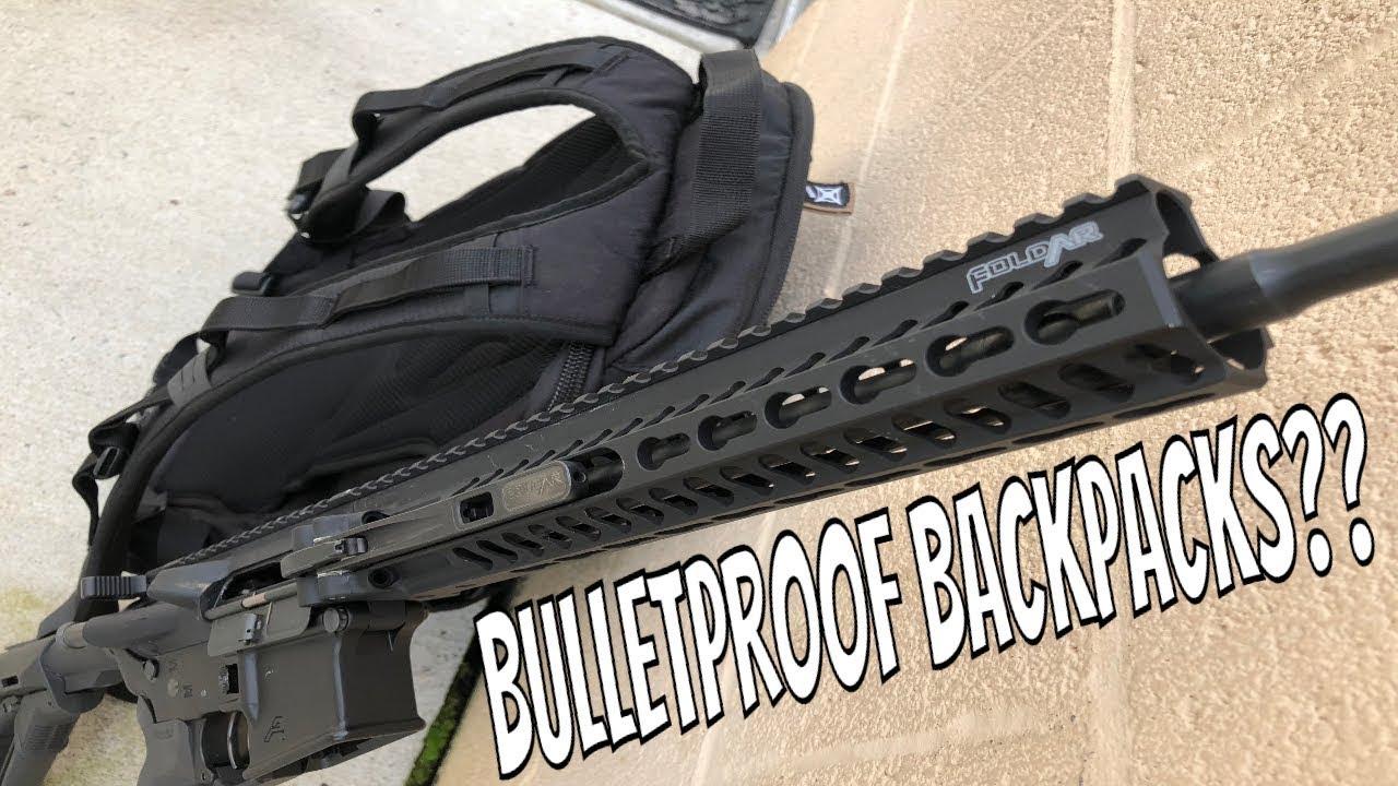 EDC GAMUT BACKPACK - Bulletproof Backpack???