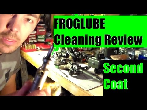 Froglube second coat  Just keeps getting better Ar 15 Rifle PART TWO